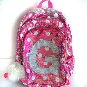Justice | Sequin School Backpack